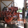 allis chalmers tractor in workshop
